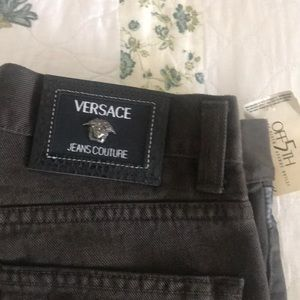 Versace Jeans - Versace men's jeans brown new with tags